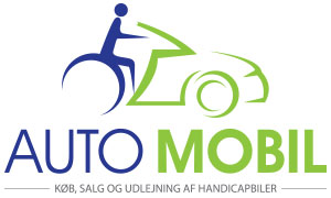 Automobil logo - blue and green